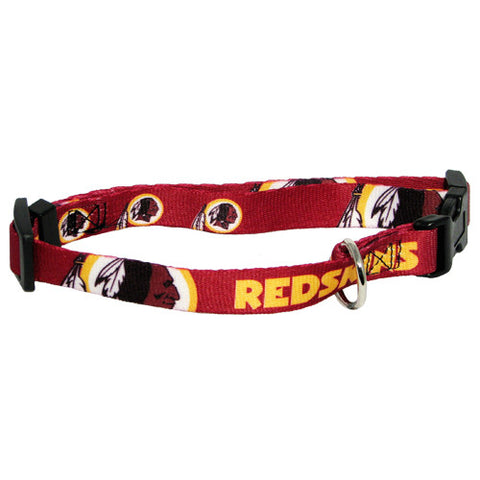 Washington Redskins NFL Licensed Dog Collar - Happy Paws Pet Shop