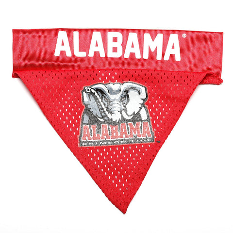Alabama Crimson Tide Licensed Dog Bandana