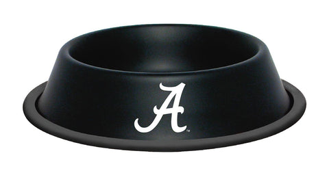 Alabama Crimson Tide Stainless Steel NCAA Dog Bowl - Happy Paws Pet Shop