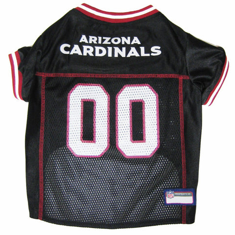 Arizona Cardinals Black NFL Dog Jersey - Happy Paws Pet Shop - 1