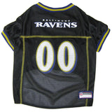 Baltimore Ravens Black NFL Dog Jersey - Happy Paws Pet Shop - 1