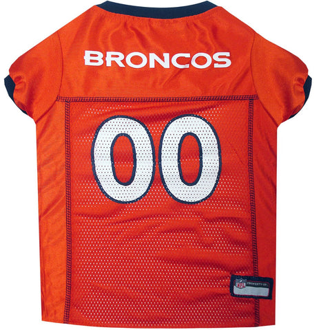 Denver Broncos Orange NFL Dog Jersey - Happy Paws Pet Shop - 1