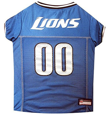 Detroit Lions NFL Dog Jersey - Happy Paws Pet Shop - 1