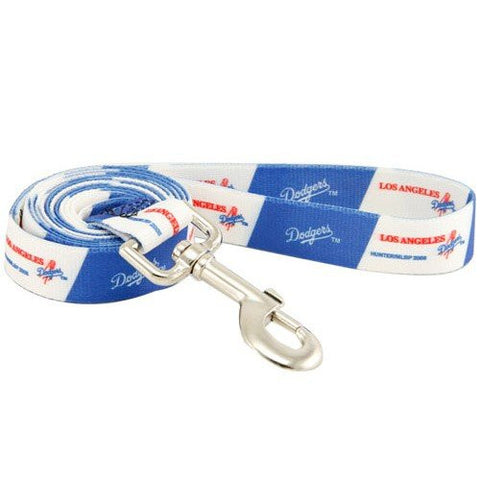 LA Los Angeles Dodgers MLB Dog Leash - Happy Paws Pet Shop