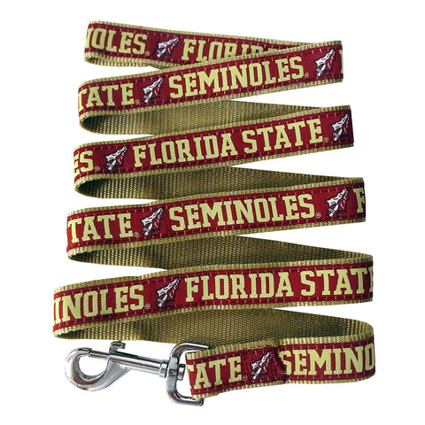 Florida State Seminoles NCAA Ribbon Dog Leash