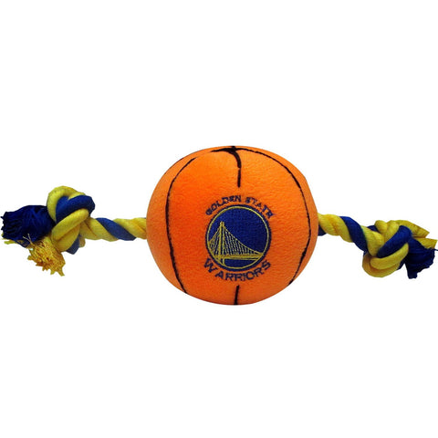 Golden State Warriors Plush Dog Toy - Happy Paws Pet Shop