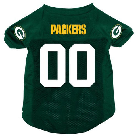 Green Bay Packers NFL Dog Jersey - Happy Paws Pet Shop - 1