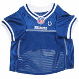Indianapolis Colts NFL Dog Jersey - White Trim - Happy Paws Pet Shop - 2