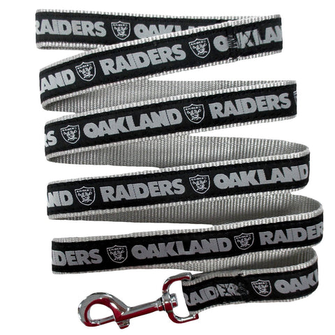 Oakland Raiders NFL Dog Leash - Happy Paws Pet Shop