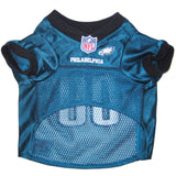 Philadelphia Eagles NFL Dog Jersey - Black Trim - Happy Paws Pet Shop - 2