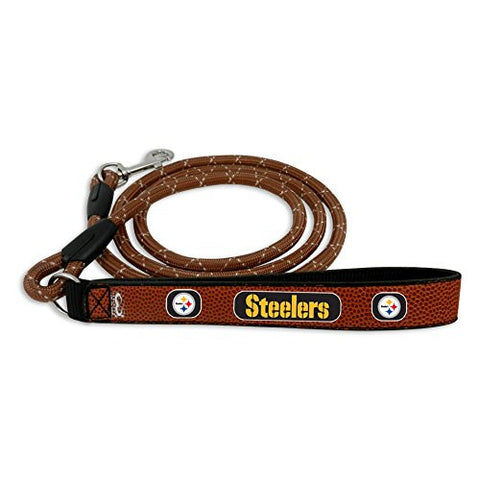 Pittsburgh Steelers Genuine Leather NFL Dog Leash