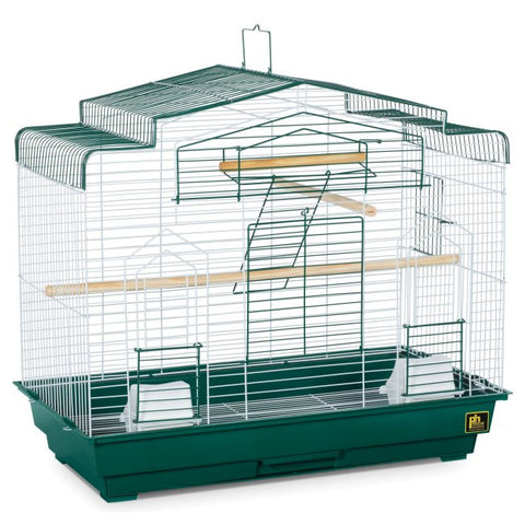 Barn Style Top Flight Bird Cage - Happy Paws Pet Shop - 1