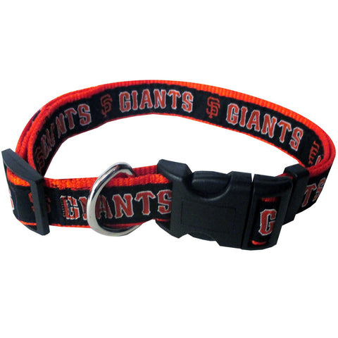San Francisco Giants MLB Licensed Dog Collar - Happy Paws Pet Shop