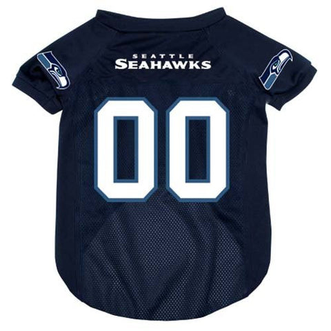 Seattle Seahawks NFL Dog Jersey - Happy Paws Pet Shop - 1