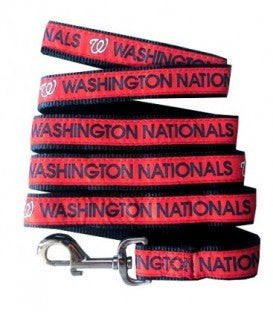 Washington Nationals MLB Ribbon Dog Leash