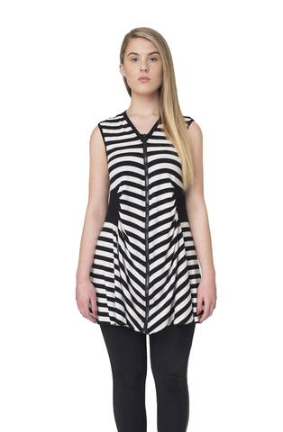 Polly Stripe Vest