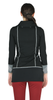 Slim Black Zippered Jacket