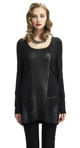 Graphite Rose Tunic