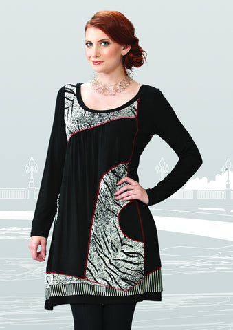 Asymmetric Night Tunic