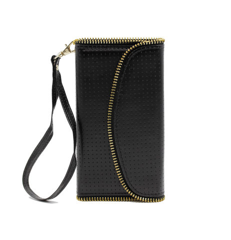 Black Victoria Wallet Phone Case
