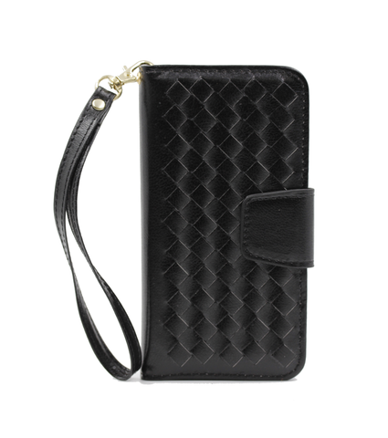 Black Georgian Wallet phone case