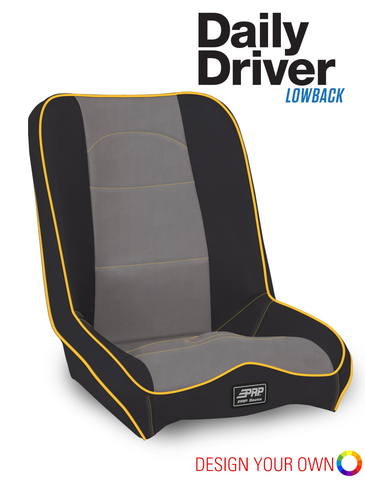 Daily Driver Low Back Extra Wide Suspension Seat