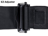"5.3x2 Harness - 5 point harness, 3"" lap belt, 2"" shoulder; lap belt: pull-up, clip-in, EZ adjusters"