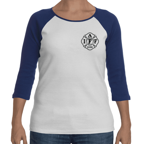 1159 Women's Baseball Shirt - Small