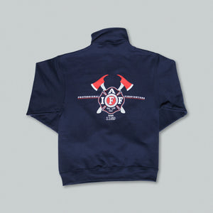 Maltese Cross & Axes Quarter-Zip