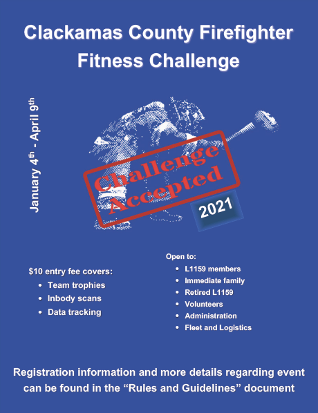 2021 Firefighter Fitness Challenge