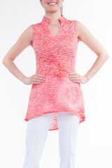 Coral Hi Low Tunic