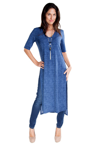 Long Denim Tunic