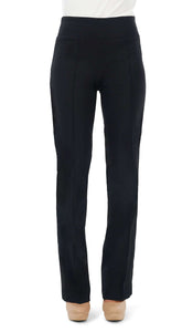 Women's Black Miracle Fit Stretch Pants - Yvonne Marie