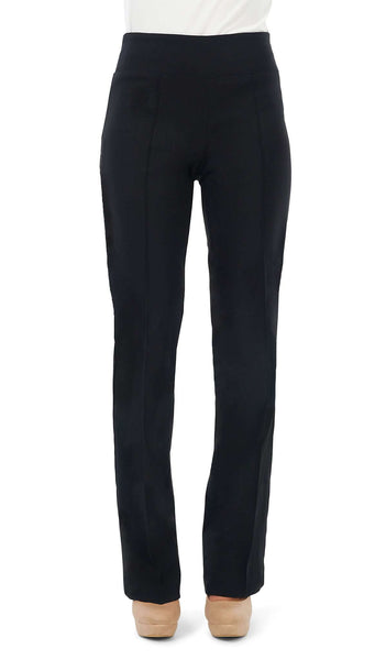 "Women's Black "" Miracle Fit"" Stretch Pants-Now On Sale ! Made In Canada"
