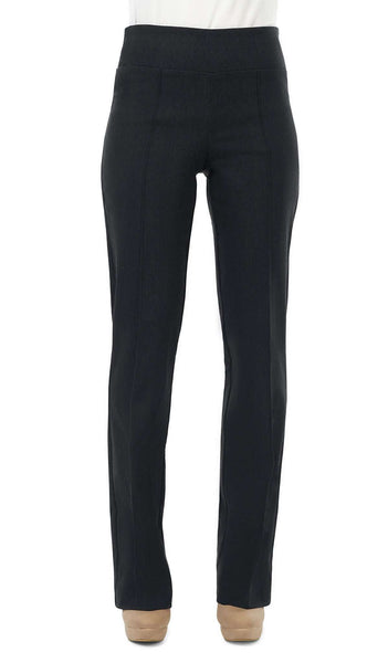 Women's Black Denim Stretch Pants