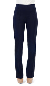 Women's Navy Miracle Fit Stretch Pants - Yvonne Marie - Yvonne Marie