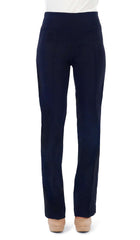 "Women's Navy Pant ""Miracle Fit"" Stretch Pant -Made In Canada - Yvonne Marie"