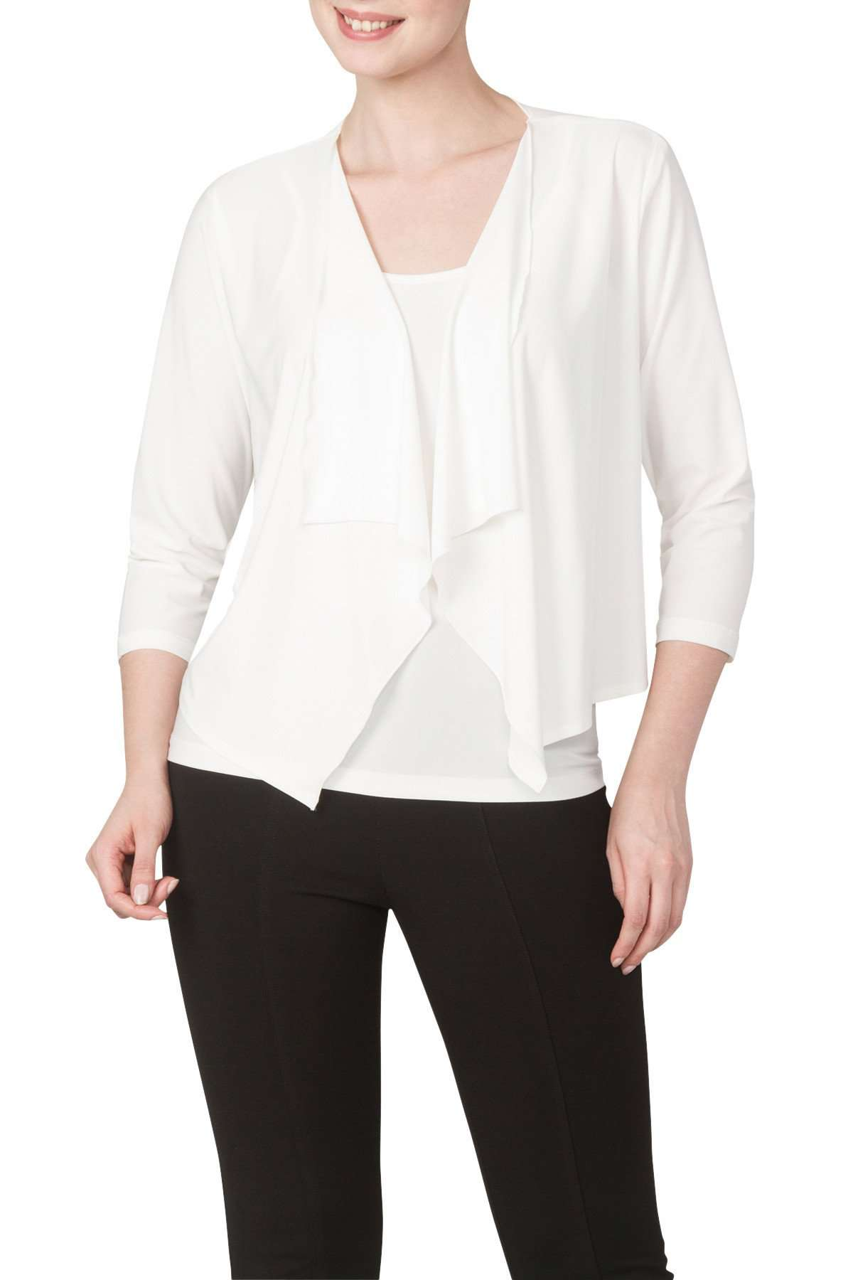 Women's Ivory Bolero Jacket Now 50 Off-Made in Canada-Shop Local - Yvonne Marie - Yvonne Marie