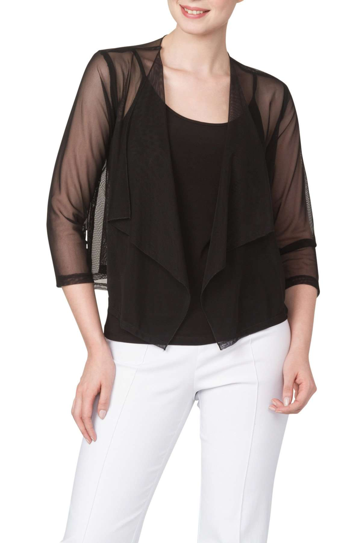 Jacket Bolero Black Mesh 50% OFF-Made in Canada - Yvonne Marie