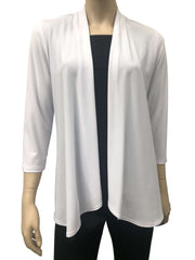 Womens White Cardigan - Yvonne Marie