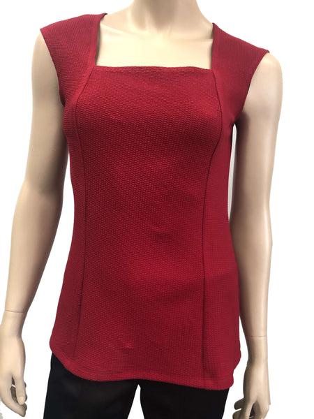 Womens Camisole | Red Square Neck Camisole | On Sale Now | Ym Style