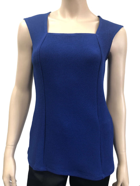 Women's Tank Tops | Royal Blue Tank Top | On Sale | YM Style