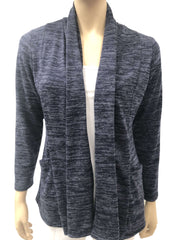 Women's Jacket Canada | Navy Blue Cardigan with Pockets | YM Style - Yvonne Marie - Yvonne Marie