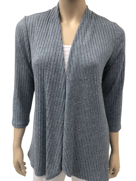 Women's Denim Blue Cardigan -Made In Montreal - Shop Local - Now 50 Off
