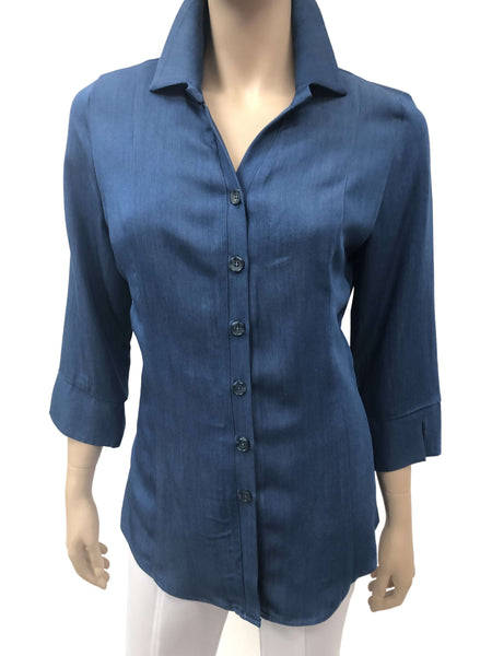 Women's Denim Blouse