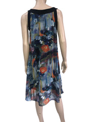Women's Dresses Colorful Chiffon Flattering Design - Made in Canada - Yvonne Marie - Yvonne Marie