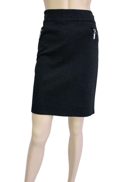 Women's Skirts Canada | Grey Pencil Skirt | on Sale | YM Style