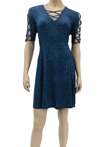 Denim Dress Large Sizes- Made in Canada- On Sale Now