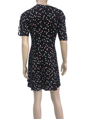 Women's Dresses on Sale Canada- Polka Dot Dress -Made in Canada - Yvonne Marie - Yvonne Marie