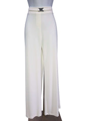 "Women's Off White ""Miracle Pants"" Super Comfortable Flowing Pant Made in Canada - Yvonne Marie - Yvonne Marie"